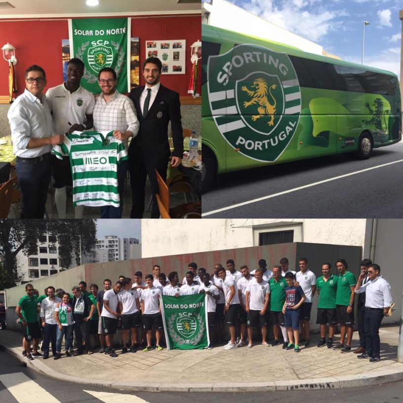 Solar do Norte recebeu equipa B do Sporting