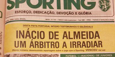 Benfica-Sporting Escândalo