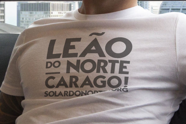 T-Shirt Solar do Norte