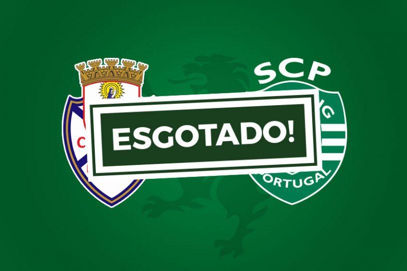 Bilhetes Feirense Sporting Esgotado