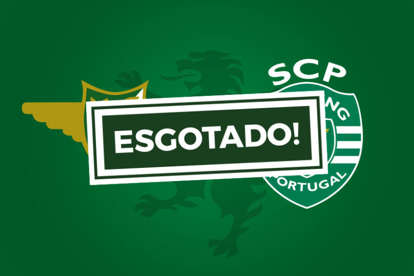 Bilhetes Moreirense Sporting Esgotado