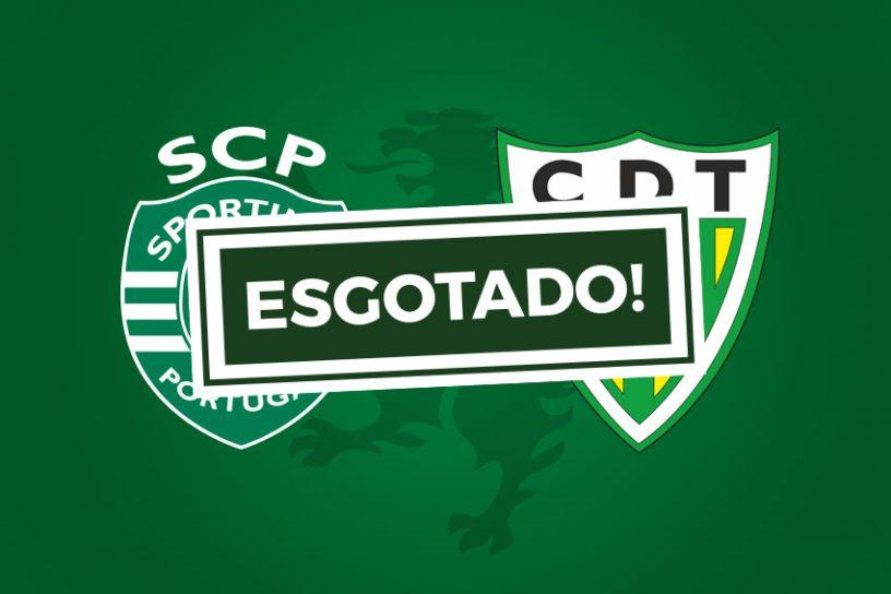 Bilhetes Sporting Tondela Esgotado