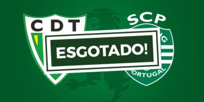 Bilhetes Tondela Sporting Esgotados