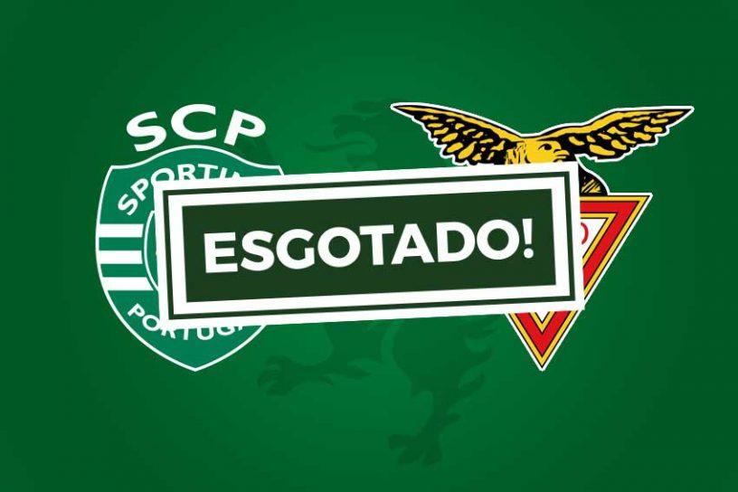 Bilhetes Sporting CP CD das Aves esgotado