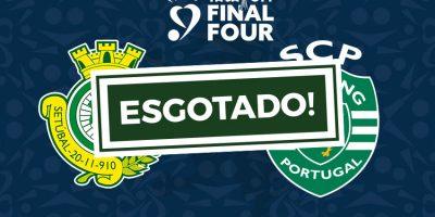 Bilhetes Setubal Sporting Taça da Liga esgotado