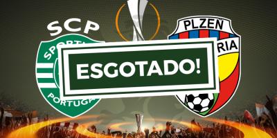 Bilhetes Sporting Liga Europa esgotado