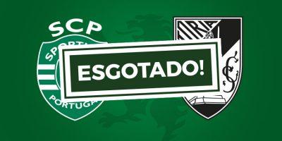 Bilhetes Guimarães Sporting Esgotado